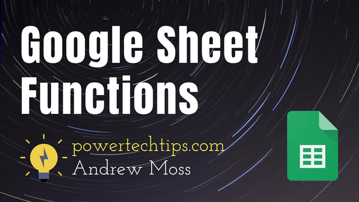20 Amazing Google Sheet Functions You Won't Find in Microsoft Excel