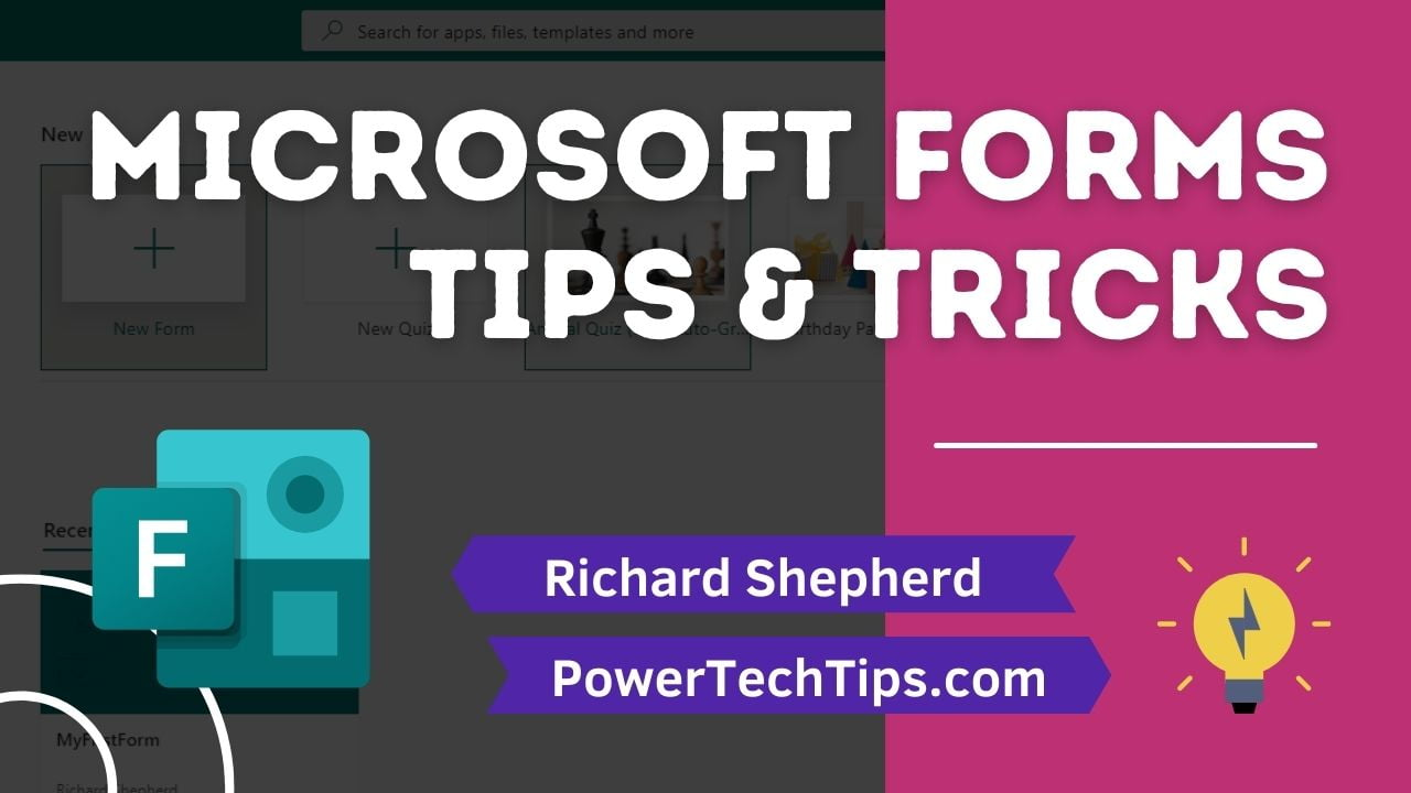 25 Microsoft Forms Tips and Tricks